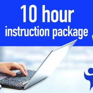 10 Hour Instruction Package