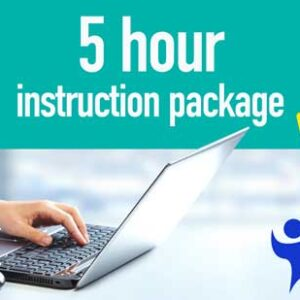 5 Hour Instruction Package